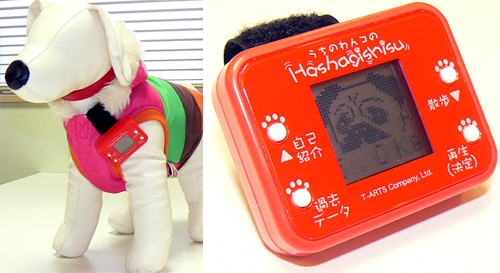 Takara Tomy Dog Pedometer (Images courtesy Newlaunches)
