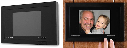 Digital Door Viewer (Images courtesy Frontgate)