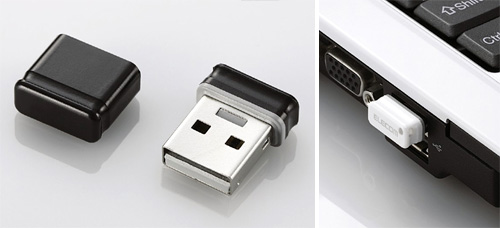 Elecom MF-SU2 Flash Drives (Images courtesy Elecom)