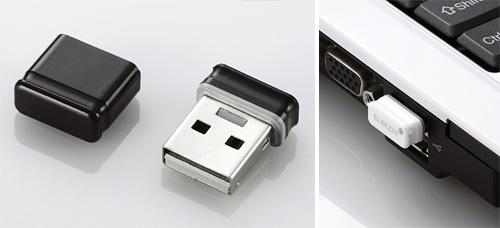 Elecom MF-SU2 Flash Drives (Images courtesy Elecom)