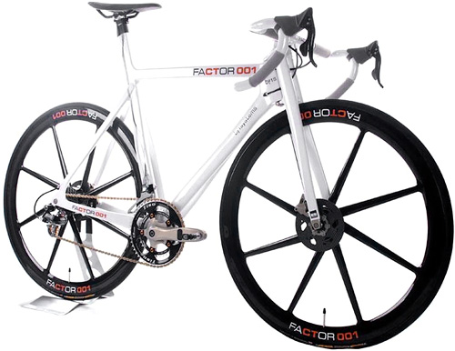 Factor 001 Bike (Image courtesy BikeRadar)
