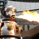 23-Foot Fire-Breathing Baby Robot Will Enslave Mankind