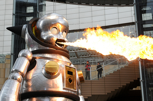 fire-breathing-baby-robot