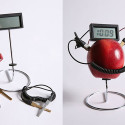 Fruit Powered Clock Makes A Tasty Timepiece