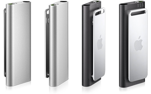 iPod Shuffle with VoiceOver (Image courtesy Apple)