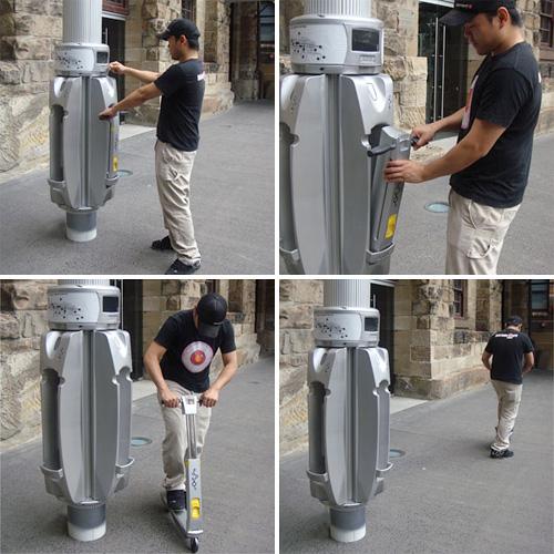 Link Urban Scooter System (Image courtesy Australian Design Award)