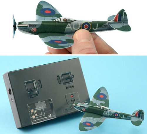 1/72 Scale Spitfire Mark 16 (Images courtesy Plantraco)