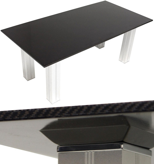 Seibon Carbon Fiber Coffee Table (Images courtesy Plunder Guide)
