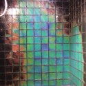 Temperature-Sensitive Glass Tiles Make For A Psychedelic Shower