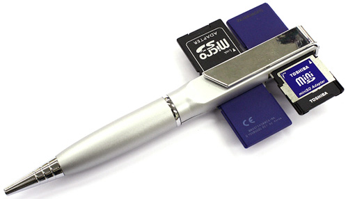 Thanko SD Slot Pen (Image courtesy Akihabara News)