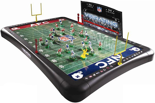 NFL 2008 Vibrating Football Game (Image courtesy Frontgate)