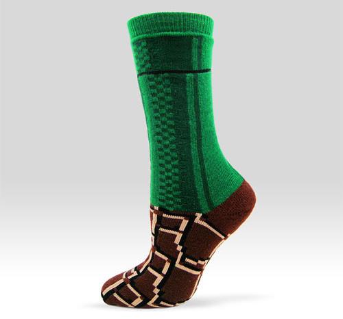Warp Zone Socks (Image courtesy AshiDashi)