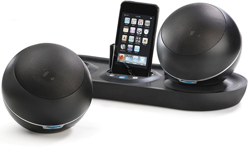 Wireless Speakers iPod Dock (Image courtesy Hammacher Schlemmer)