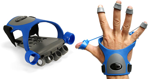 Xtensor Gamer Hand Exerciser (Images courtesy ThinkGeek)