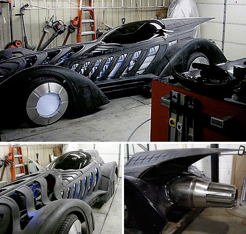 Bob Causey's Batmobile (Images courtesy TechEBlog)
