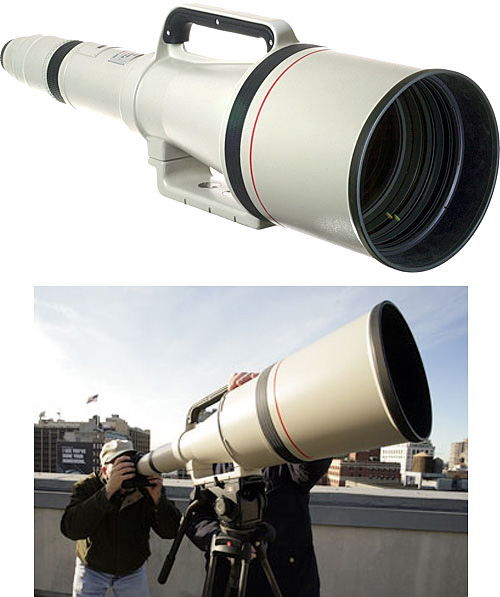 Canon Super Telephoto 1200mm f/5.6 EF USM Autofocus Lens (Images courtesy B&H)
