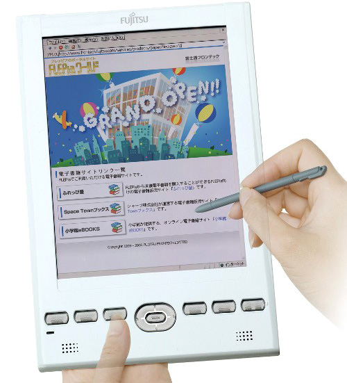 Fujitsu FLEPia (Image courtesy Device Daily)
