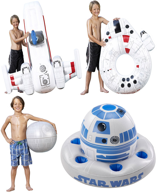 Star Wars Inflatable Toys (Images courtesy StarWars.com)
