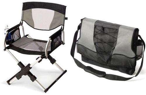 Messenger Bag Director's Chair (Image courtesy The Design Blog)