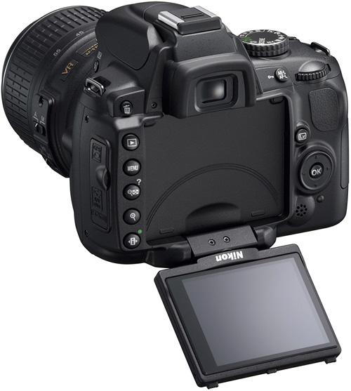 Nikon D5000 (Image courtesy Nikon)