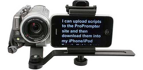 ProPrompter Wing (Image courtesy Bodelin Technologies)