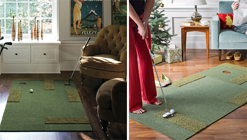 Putt Up Or Shut Up Rug Kit Turns Your Living Room Into A