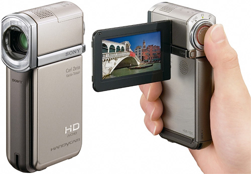 Sony HDR-TGV5 (Images courtesy Sony)