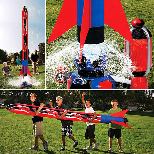 Titan Blast Inflatable Water Rocket (Images courtesy Walmart)