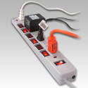 Ultra 7-Outlet Surge & Spike Protector With Individual On/Off Switches