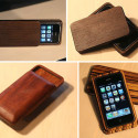 Handmade Wooden iPhone 3G Cases