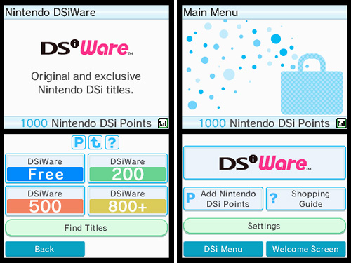 Nintendo DSi (Images courtesy Nintendo)
