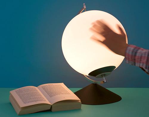 Karin Johansson's Dynamic Lamp (Image courtesy Andreas Nyquist)
