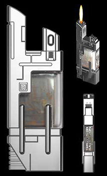 Terminator Salvation Fuel Cell Lighter (Image courtesy Hollywood Collectibles Group)