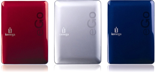 Iomega eGo Drives (Image courtesy Iomega)