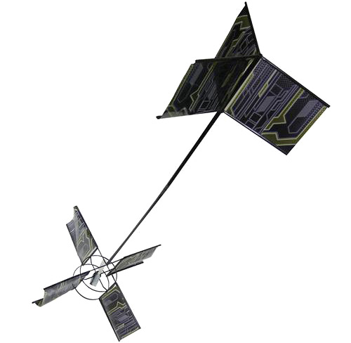 Silvertlit Kazoo Indoor Flying Kite (Image courtesy Buy.com)