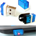 1GB USB Nano Flash Drive In A 1×2 LEGO Plate