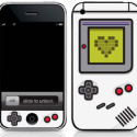 Monochrome Game Boy iPhone Skin