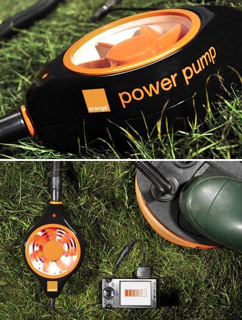 Orange Power Pump (Images courtesy Orange)