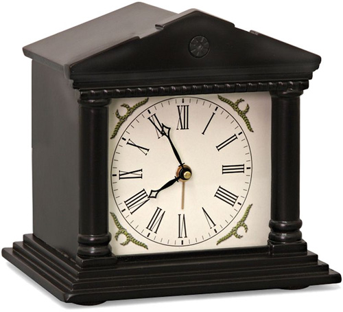The Infallibly Polite Speaking Alarm Clock (Image courtesy Hammacher Schlemmer)