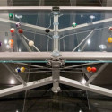 Glass Top Pool Table