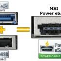 MSI Unveils Power eSATA