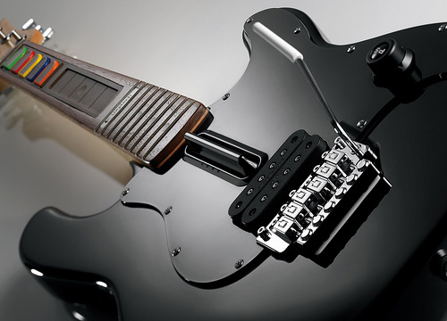 PS3 Guitar Hero Wireless Controller (Image courtesy Logitech)