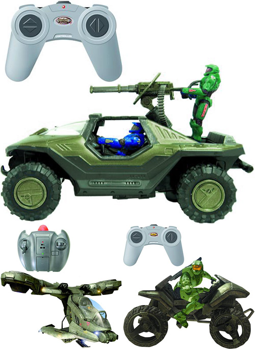 Halo RC Vehicles (Images courtesy the BigBadToyStore.com)