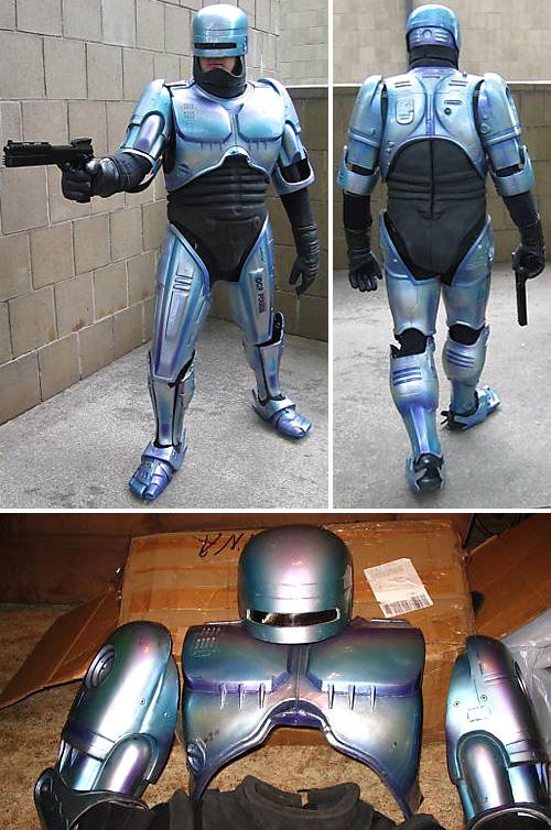RoboCop Promo Armor (Images courtesy eBay)