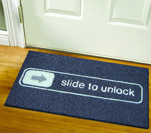 Unlock Doormat (Image courtesy Digital Drops)