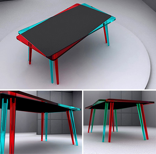 Stereovision Table (Images courtesy John Nouanesing)