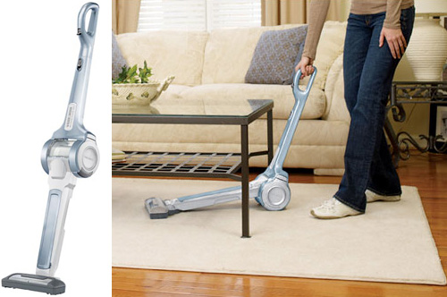 18V Cordless Pivoting Floor Vac (Images courtesy Black & Decker)