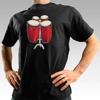 Electronic Bongo Drum T-Shirt (Image courtesy Latest Buy)