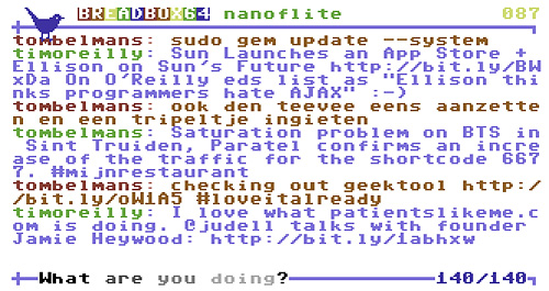 BREADBOX64 (Image courtesy Johan Van den Brande)