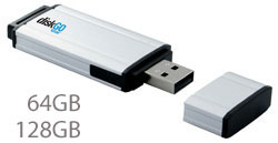 DiskGO 128GB Flash Drive (Image courtesy EDGE Tech Corporation)